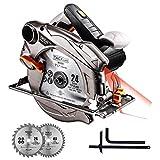 TACKLIFE PES01A, Handkreissäge mit Laser,...