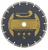 PRODIAMANT Diamanttrennscheibe 230 x 22,2 mm...
