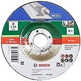 Bosch 5 Stück Trennscheibe (für Metall,...