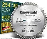 Bayerwald HM Kreissägeblatt 254 x 2.8/1.8 x...