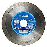 S&R Diamanttrennscheibe, Trennscheibe 125mm...