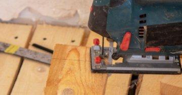 Stichsäge Holz sägen