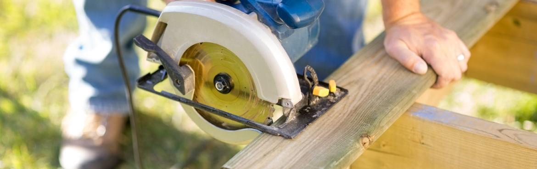 Holz sägen ohne ausfransen