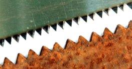 Aufbau Sägeblatt