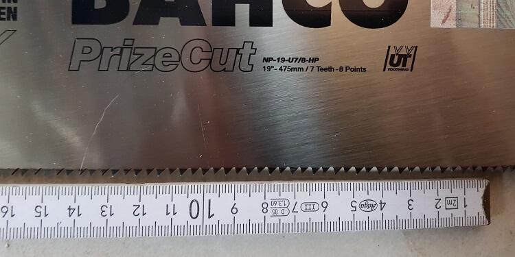 Bahco Prize Cut Detail