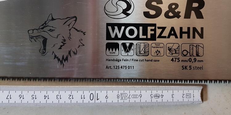 S&R Wofzahn Detail