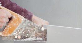 Gipskartonplatte schneiden