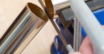 Handsäge für Metall