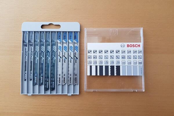Stichsägeblätter Bosch Test