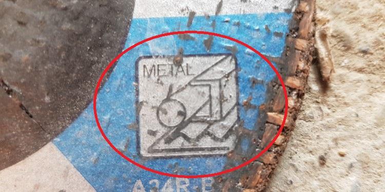 Trennscheibe für Stahl
