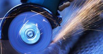 Winkelschleifer Metall trennen