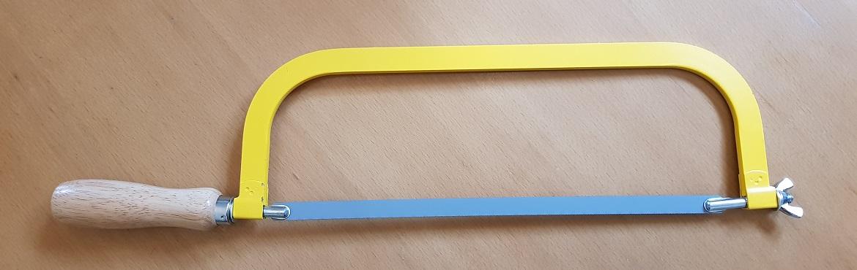 Metallbügelsäge Sägeblatt wechseln